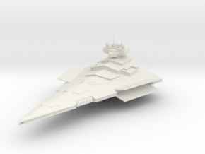Micromachine Star Wars Victory class in White Natural Versatile Plastic