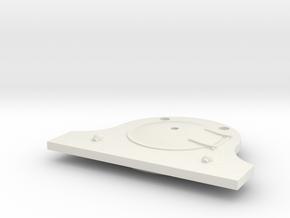 LBSCR A1 smokebox door in White Natural Versatile Plastic