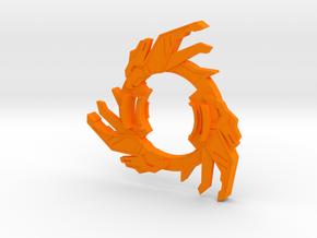 Bey Cyber Dranzer Attack Ring in Orange Processed Versatile Plastic