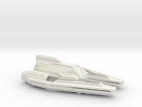 V WING flyer for THEODOMS in White Natural Versatile Plastic