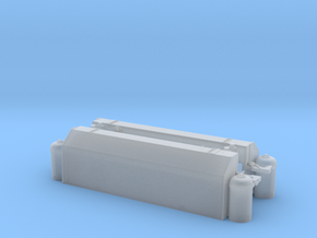 GE B36-7 Fuel Tank in Smooth Fine Detail Plastic