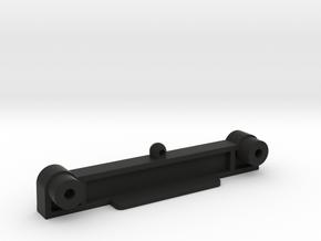 Kyosho Shadow Aero Streak Rear Body Mount and Shoc in Black Natural Versatile Plastic