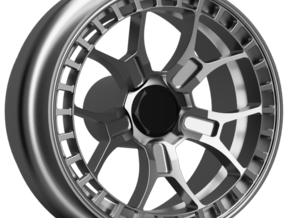 Rotiform ZMO-M 9mm Dia - 4 sets in Smoothest Fine Detail Plastic