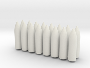 1/100 Ammunition for Karl  in White Natural Versatile Plastic