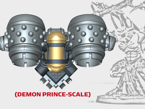 Studded Chordero - Demon Lord Jetpack in Smooth Fine Detail Plastic