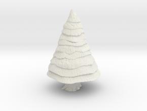 Pine Tree 1/87 in White Natural Versatile Plastic