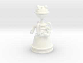 Lost in Space - 1.35 - Evil Robot 1 - Alfa 784 in White Processed Versatile Plastic