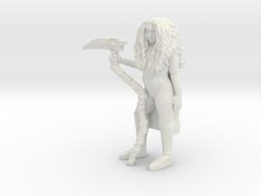 Reaper Princess Shaye in White Natural Versatile Plastic