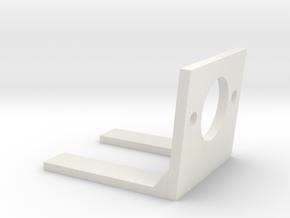 Small encoder mount in White Natural Versatile Plastic