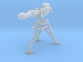 E-Web heavy repeating blaster 28/35mm scale in Smooth Fine Detail Plastic