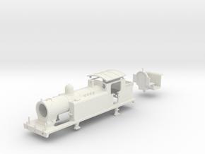 "LBSCR E4 (W/ ""Pop-top valves"") in White Natural Versatile Plastic"