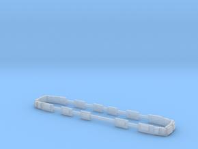 Scala N - FS E645 - E646 seconda serie finestrini in Smooth Fine Detail Plastic