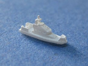 Island Class Patrol Boats (1:1250) in Smooth Fine Detail Plastic: 1:1250