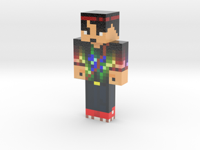 MarioGuy2   Minecraft toy in Glossy Full Color Sandstone