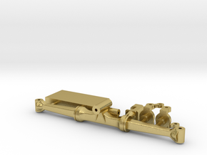 1/64 7000 series SPFH rear axle  in Natural Brass