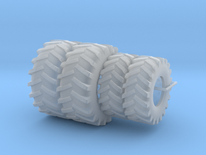1/64 7000 series SPFH Tires  in Smooth Fine Detail Plastic