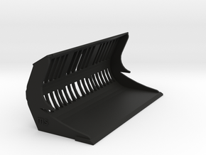 Puinriek shovel klein 6.0 61mm dichte bodem in Black Natural Versatile Plastic