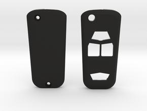 Chevrolet Colorado Flip Switchblade Key Fob in Black Natural Versatile Plastic