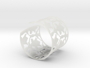 Sherlock Cuff: Solid version - Size S in Smooth Fine Detail Plastic