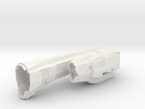 1/3788 Triumph Class Right Nacelle in White Natural Versatile Plastic