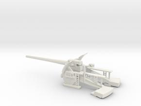 30.5cm beta m gerat Schwere Kartaune Beta-M-Gerät  in White Natural Versatile Plastic