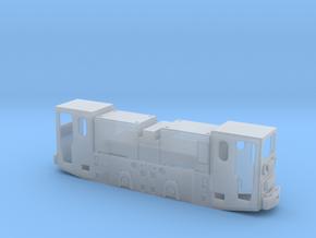 Grubenlok - RAG REL-A Einheitslok - Akkumulator in Smoothest Fine Detail Plastic