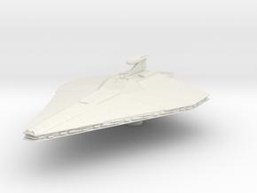 Micromachine Star Wars Acclamator class in White Natural Versatile Plastic