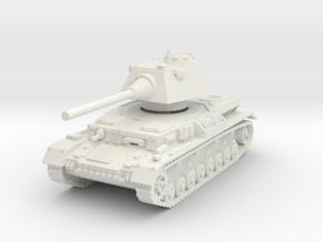 Panzer IV S 1/72 in White Natural Versatile Plastic