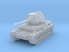 Panzer IV S 1/200 in Smooth Fine Detail Plastic