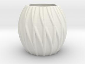 Little pot in White Natural Versatile Plastic