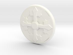 1/6 Sideshow Shield in White Processed Versatile Plastic
