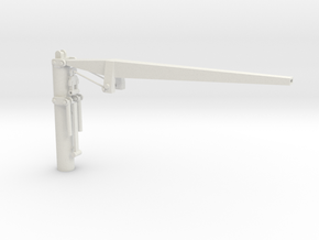 Ship Crane - Not Scaled  in White Natural Versatile Plastic