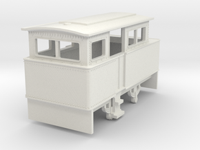 b-100-redlake-atkinson-walker-loco in White Natural Versatile Plastic