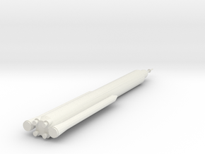 1/1000 Scale SLS Block II Crew in White Natural Versatile Plastic