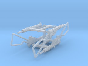 1:16 Sten Mk.II - Loop Stock x4 in Smoothest Fine Detail Plastic
