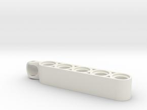 suspension arm 6L in White Natural Versatile Plastic