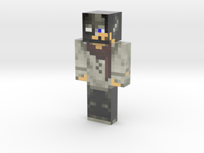 KalAmit3   Minecraft toy in Glossy Full Color Sandstone
