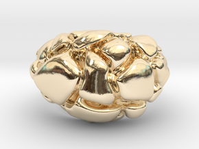 "Man's ""FUTURE Ring"" 14k yellow gold with 573 code in 14K Yellow Gold"