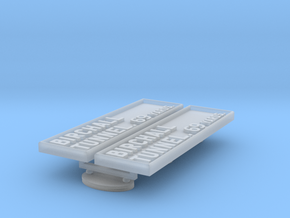PB74 LMS Bridge & tunnel plates in Smooth Fine Detail Plastic