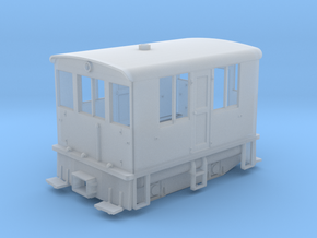 HOn3 / HOn30 23 Ton GE Boxcab in Smooth Fine Detail Plastic