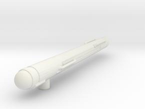 1000 TOS single warp engine alt in White Natural Versatile Plastic