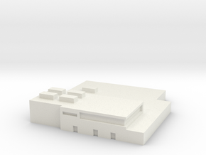 Papa Air Base Terminal 1:1200 Scale in White Natural Versatile Plastic
