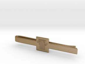 PARK WEST - Men TieClip Model 003 in Polished Gold Steel