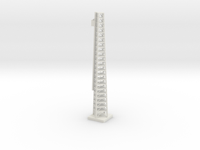 1/200 Scale Launch Complex Umbilical Tower in White Natural Versatile Plastic
