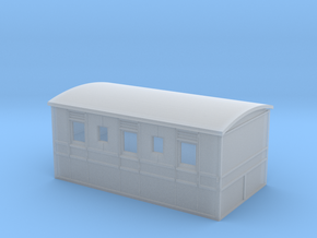 Culm Valley 3rd carriage with roof in Smooth Fine Detail Plastic