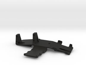 shafty front axle electronics tray axial capra in Black Natural Versatile Plastic
