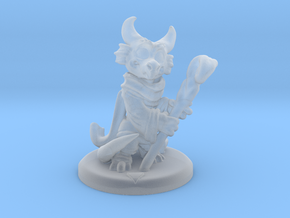 Kobold Party 01: Healer (with base) in Smoothest Fine Detail Plastic