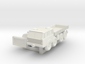 H0 Scale Tatra 813 in White Natural Versatile Plastic