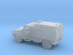 IVECO-LMV-LINCE-Ambulancia-H0-proto-01 in Smooth Fine Detail Plastic