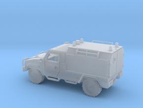 IVECO-LMV-Ambulancia-H0-proto-01 in Smooth Fine Detail Plastic
